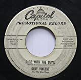 gene vincent 45 RPM race with the devil / gonna back up baby