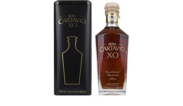 Ron Cartavio XO 18 Años 40% - 700 ml in Giftbox