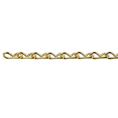 Perfection Chain Products 54515 #18 Single Jack Chain, Brass Clean, 10 FT Carton: Industrial & Scientific