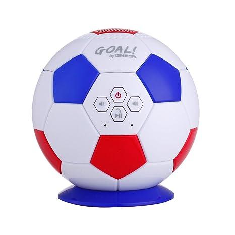 Altavoz Bluetooth de balón de fútbol Francia Nesx 3 W RMS llamada ...