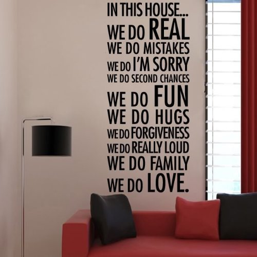 Decalgeek House Quote Decal Decor