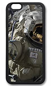 Astronaut Easter Thanksgiving Halloween Masterpiece Limited Design TPU Black Case for iphone 6 pluse by Cases & Mousepads
