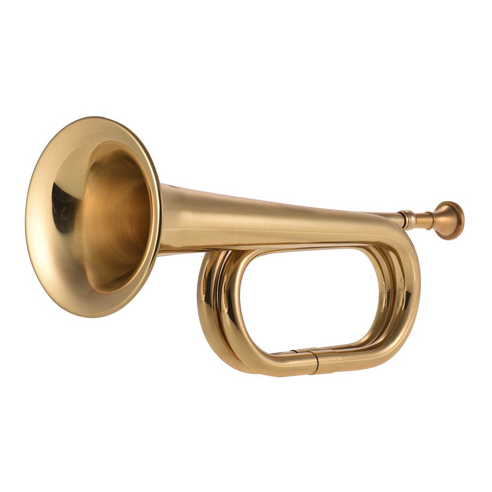 Festnight Cavalry Bugle, Trumpet Brass Cavalry for School Band Cavalry Military Orchestra by Festnight