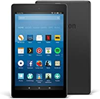 "Fire HD 8 Tablet, 8"" HD Display, 16 GB, Black"