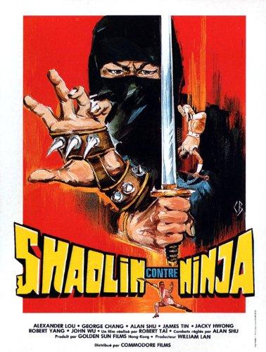 Amazon.com: Shaolin vs. Ninja Poster Movie French 11x17 ...