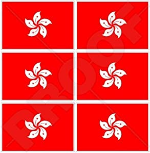 Amazoncom HONG KONG Flag China ASIA HK Chinese Mm - Custom vinyl stickers hong kong