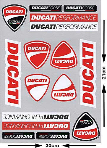 Ducati Stickers kit (16 pc.) Moto Discovery