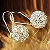 Bobury Korean Earrings Fashion Cute Personality Hollow Ball Stud Earrings