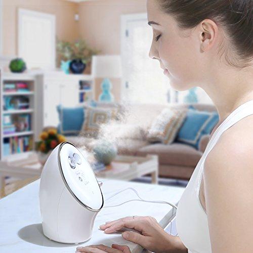 Kealive Home Facial Steamer With Nano-Ionic Steam,Deep