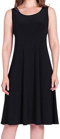 Sympli Black Tank Dress