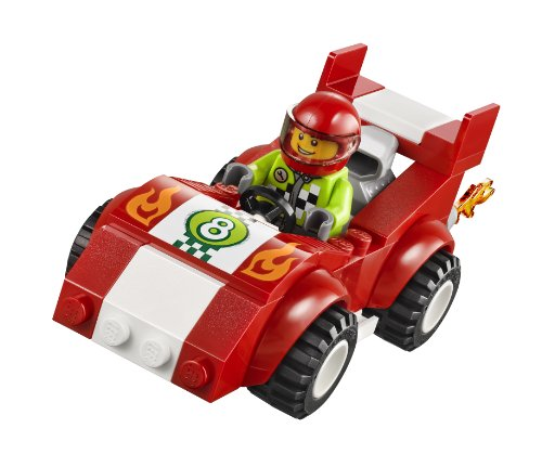 Amazon Com Lego Juniors Race Car Rally Toys Games
