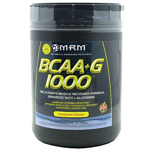 MRM - BCAA + G Ultimate Muscle Recovery Formula Lemonade - 1000 Grams