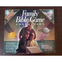 Family Bible Game Collection: Escape From Rome, Conflict in Jerusalem, Captain Bible, Bible Grand Slam and Bible Builder