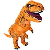 T-Rex Adult Costume Inflatable Dinosaur Costume Halloween Blow up Adult Dinosaur Suit