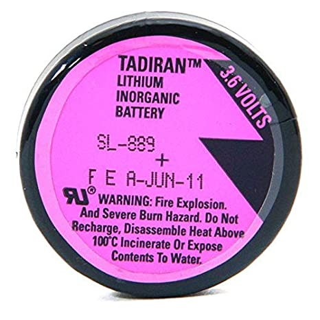 Tadiran Lithium Batteries Blister Sl889 P 1 10d 3 6 V 1ah Box S With 1 Business Industry Science