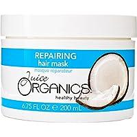 Juice Organics Repairing Hair Mask, Coconut, 6.75 fl. oz.