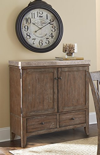 Marble Top Buffet Sideboard (Steve Silver Company Franco Marble Top Server)
