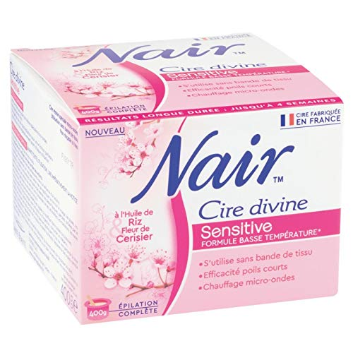 Nair - Cera Divina Resina Sensible 400G Para Microondas - Lot De 3 ...