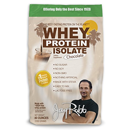 Jay Robb - Grass-Fed Whey Protein Isolate Powder, Outrageous