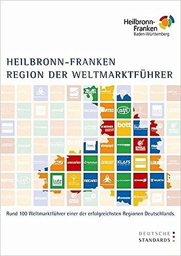 Region Heilbronn Franken Karte.Deutsche Standards Heilbronn Franken Region Der Weltmarktführer