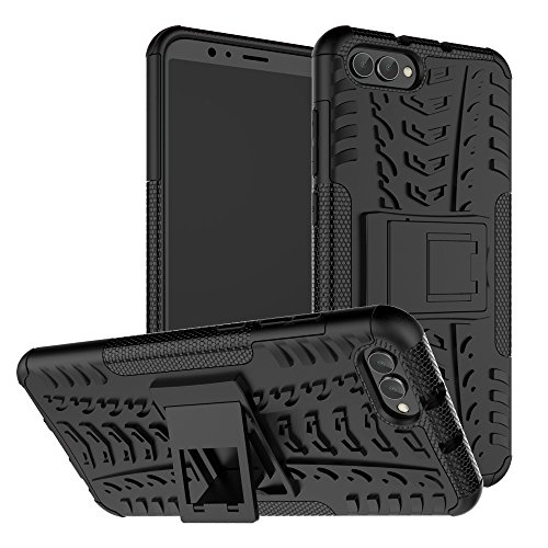 Huawei Honor V10 Case, Huawei Honor View 10 Case SunRemex Durable Armor with Full Body and Heavy Duty Protection and Kickstand Design for Huawei Honor V10 Phone