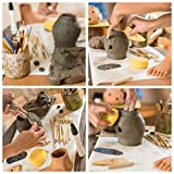 BlackyVox Pottery and Clay Sculpting Tools Double