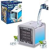 Mini Ar Condicionado Portátil Arctic Air Cooler Umidificador Climatizador Luz Led