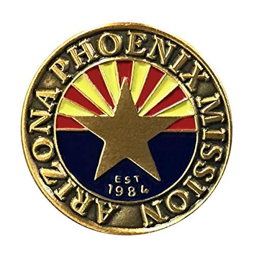 Bennett Brands LDS Arizona Phoenix Mission Commemorative Lapel Pin ()