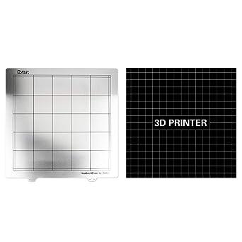 Kesoto 300 mm 3d impresora primavera hoja de acero calor cama ...