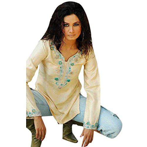Pequeño La Tamaño Trabajo Piedra Designs Del Blanco De Mujeres Camiseta Cuello 1545 Vestido Ocasional qEF6CPw