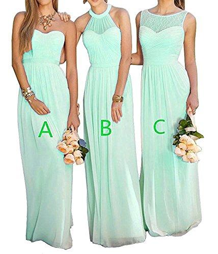 long a line bridesmaid dresses - 3