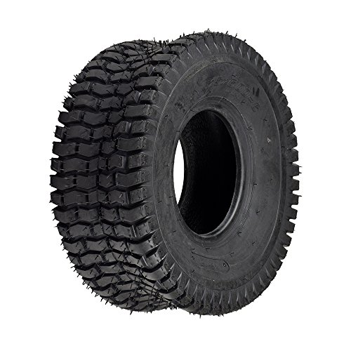 Monster Motion 15x6.00-6 Lawnmower, Go-Kart, and ATV Tire with QD106 (Lawn Mower Go Kart)