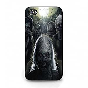 Zombie Pattern The Walking Dead Phone Case Cover For Iphone 4/4S The Walking Dead Design