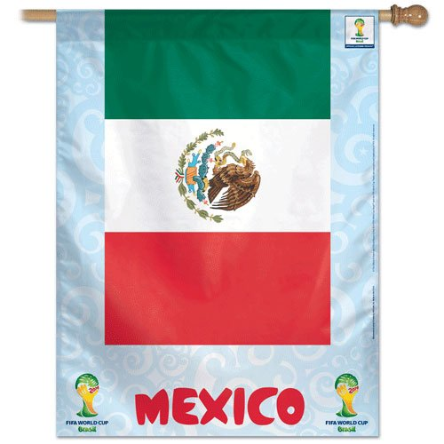 "Mexico - 27"" x 37"" Country World Cup 2014 Vertical Banner"