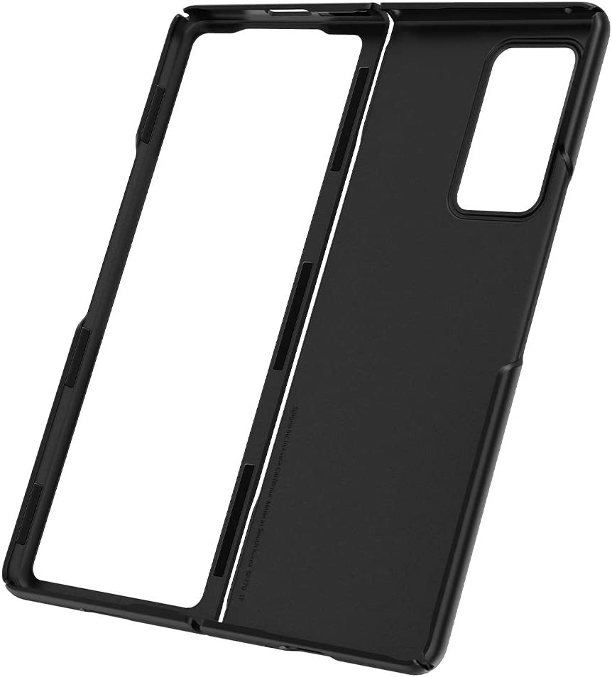 Negro Dise/ño estilizado y Compacto Spigen Funda Thin Fit para Samsung Galaxy Z Fold 2