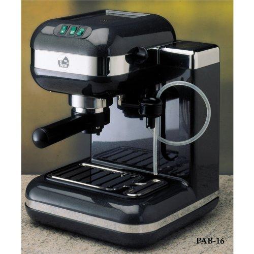 La Pavoni PAB-16 Espresso Si Black Automatic Espresso Machine