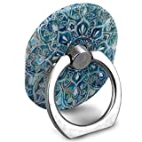 Phone Stand Patty Loves Blue Art Ring Cell Phone Stand Adjustable 360 Degree