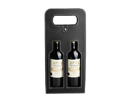 YULAN 2 Botella Premium Calidad Vino Caja de Regalo Doble ...