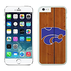 NEW DIY Unique Designed Case For Iphone 6 Kansas State Wildcats iphone 6 White 4.7 TPU inch Phone Case 216