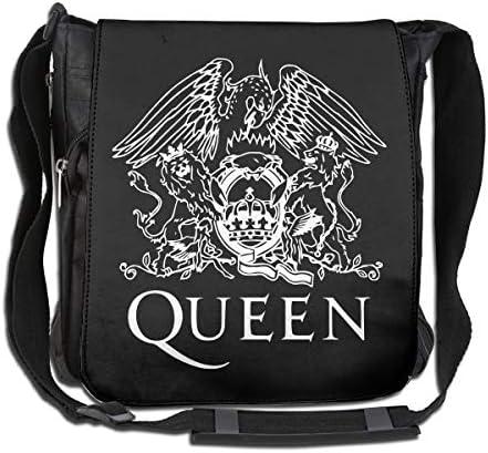 Queen John Deacon ショルダーバッグ 斜め掛け 肩掛け ビジネスバッグ メンズ レディース カジュアル 小物整理 大容量 軽量 ユニセックス