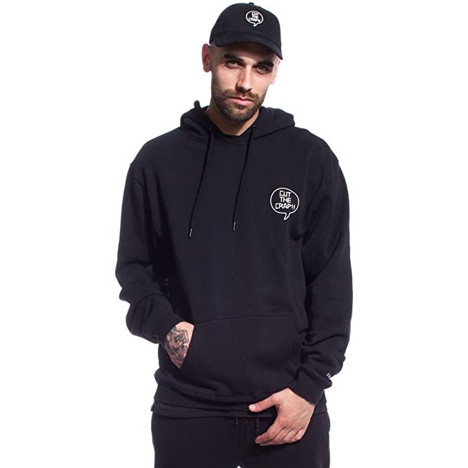 Grimey Sudadera Cut The Crap Hoodie FW17 Black-XXL: Amazon.es: Ropa y accesorios