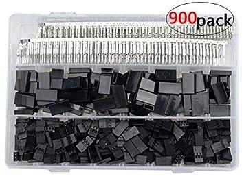 500Set//Lot Normal Connector Plug Male//Female 2.54mm for Servo Jr Futaba Batttery