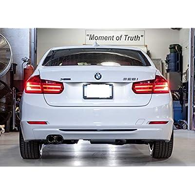 SUKRAGRAHA Replacement Model No. Rear 3D Sticker Emblem Badge for BMW 316i 318i 320i 323i 325i 328i 330i 335i (328i): Automotive