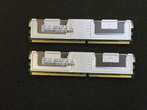 (Samsung 4GB (2X 2GB) DDR2 PC2-5300FB-DIMM 240Pin 667MHz Server M395T5750EZ4-CE6)