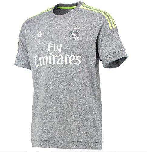 Uomo Grigio Replica Madrid Jsy Adidas Second Cf Maglia A 2016 2015 Real Da YwZqw7P