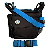 Jasper Swag Dog Walking Treat Bag - Enjoy Clutter Free Walks, Keep Your Gear Dry - Built-In Poop Bag Dispenser - Fanny Pack or Padded Cross Body Strap - Ideal for Walking, Hiking or Training - Black