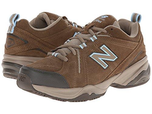 破壊境界羊の服を着た狼(ニューバランス) New Balance レディーストレーニング?競技用シューズ?靴 WX608v4 Brown 10.5 (27.5cm) B - Medium
