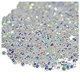 Micro Diamond - SODIAL(R) 1440Pcs Micro Diamond DIY Nails Rhinestones Crystal Flat Back Non Hotfix Rhinestones Need Glue Nail Art Decoration Cosmetics, AB Colors