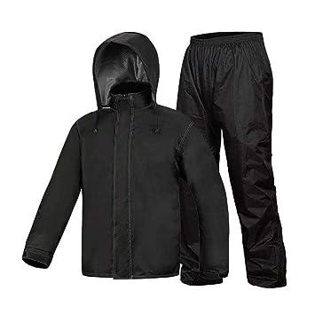 CZZ Impermeable (Traje de Chaqueta Y Pantalones de Lluvia ...