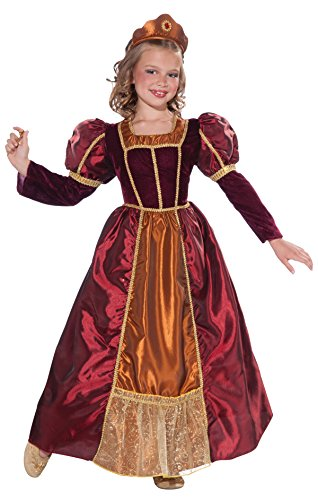 Forum Novelties Kids Enchanted Princess Costume, Large, One Color